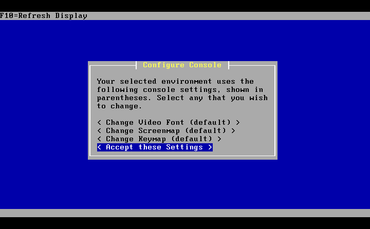 Installer_02_set_console_options